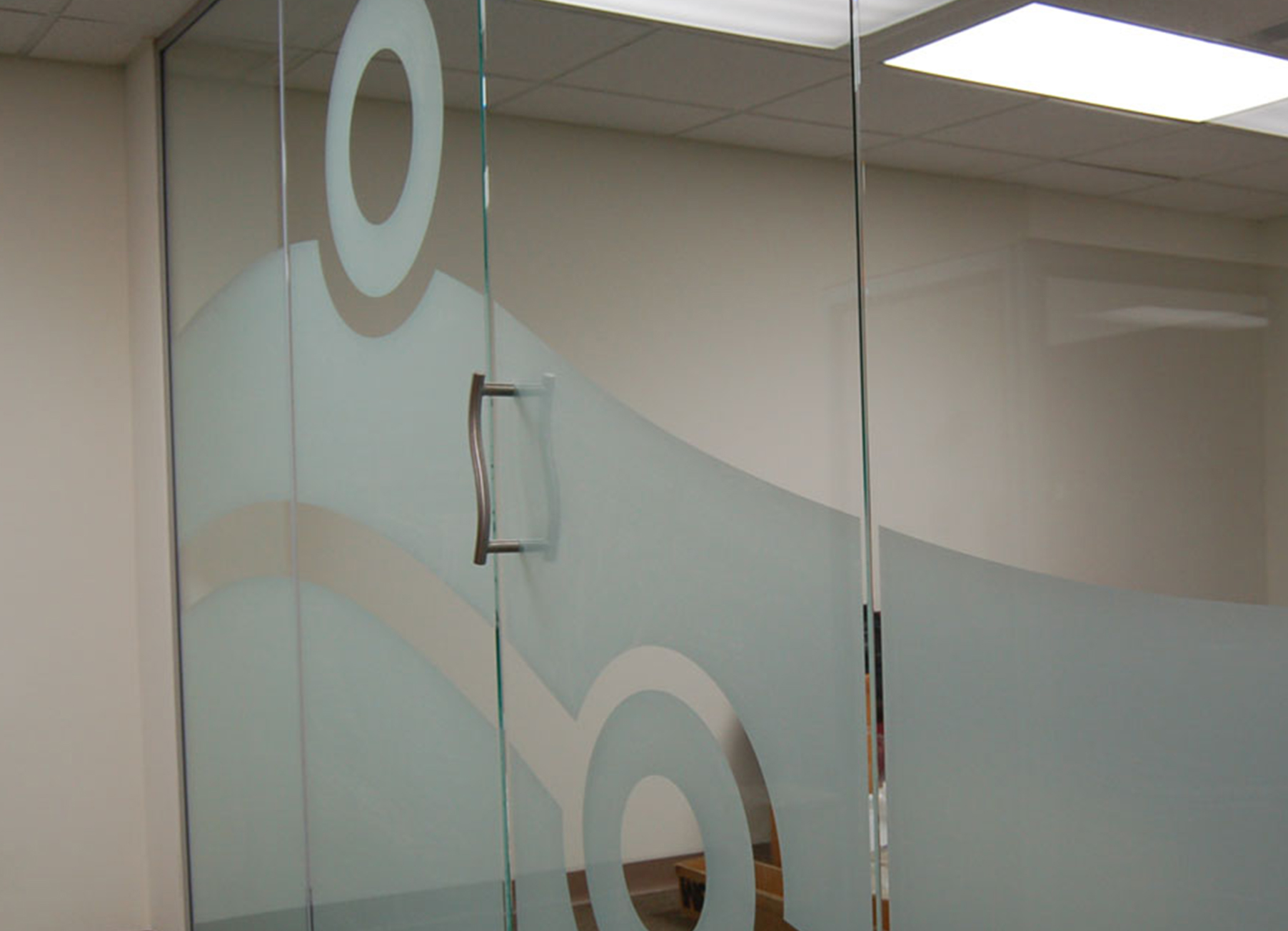 office glass frosting. Decorative Glass Office Doors With Side Panel Frosting I
