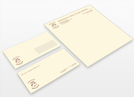 headed paper, compliment slips and envelopes