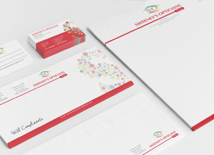 stationery suite printing