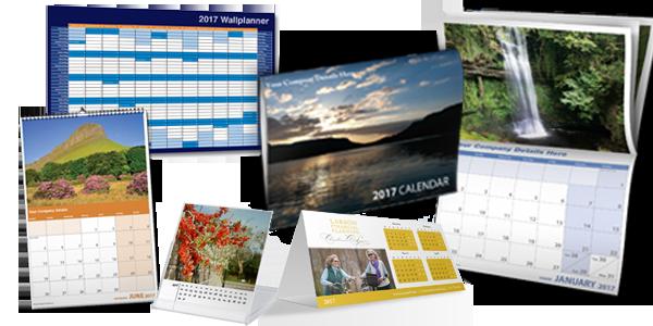 Calendar Printing | Diverse Print & Graphics, Sligo